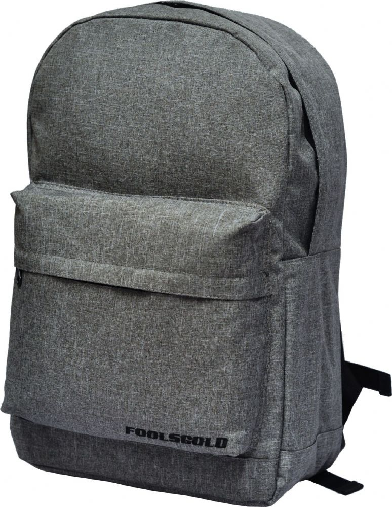 foolsGold Laptop Backpack in Light Grey